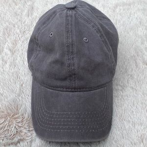 Accessories - Grey Adjustable Hat One Size